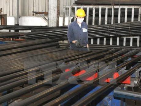 Sản xuất thép tiếp tục xu hướng tăng trưởng mạnh