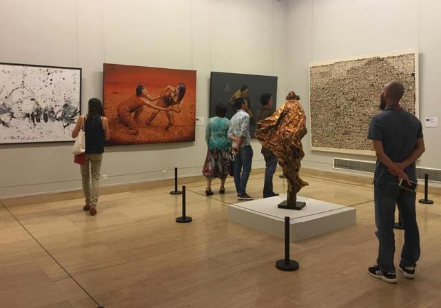 Bốn họa sỹ Việt Nam tham gia triển lãm quốc tế Biennale tại Trung Quốc