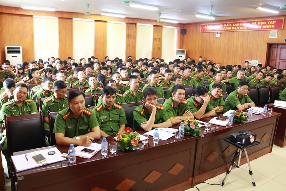 Trung đoàn Cảnh sát cơ động Công an TP. Hà Nội: Đẩy mạnh học tập và làm theo Bác