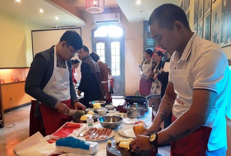 Giới thiệu ẩm thực Ba Lan tại Hà Nội