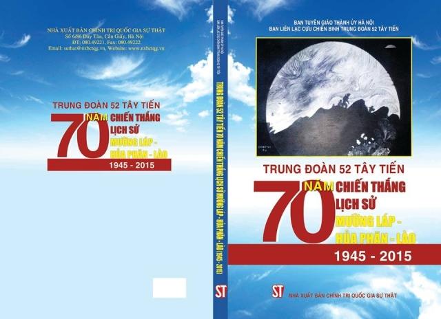 Ra mắt cuốn sách mới về Trung Đoàn 52 Tây Tiến