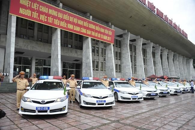 Cục Cảnh sát giao thông tổ chức Lễ xuất quân phục vụ Tuần lễ cấp cao APEC 2017