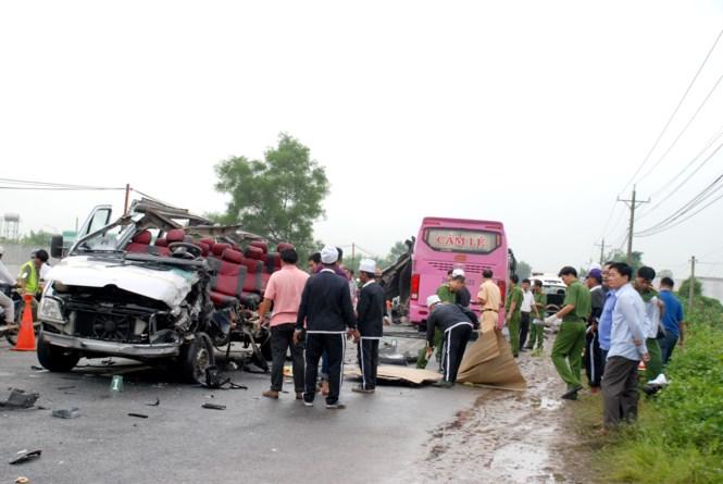 Khẩn trương khắc phục hậu quả vụ tai nạn giao thông đặc biệt nghiêm trọng tại Tây Ninh