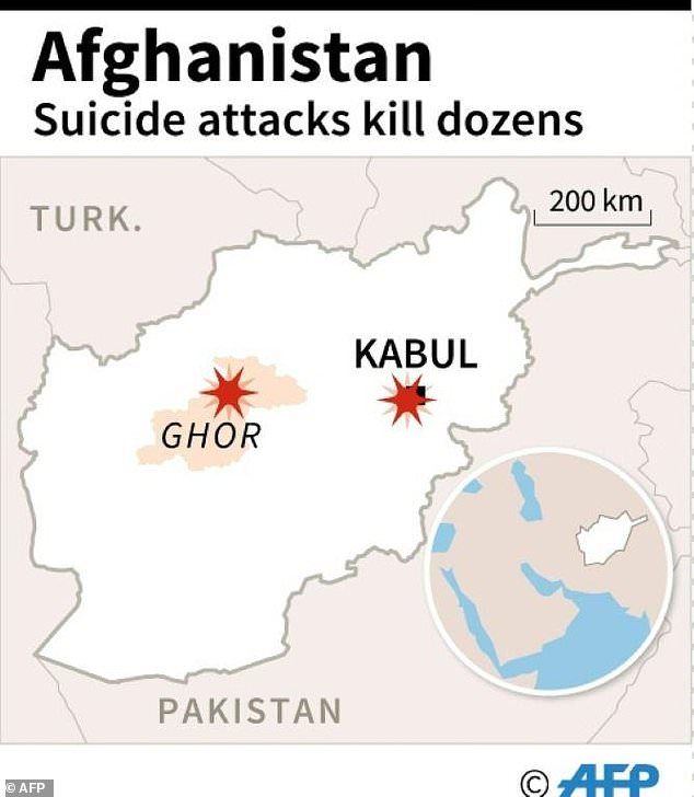 Đánh bom đẫm máu ở Afghanistan, ít nhất 50 người thiệt mạng