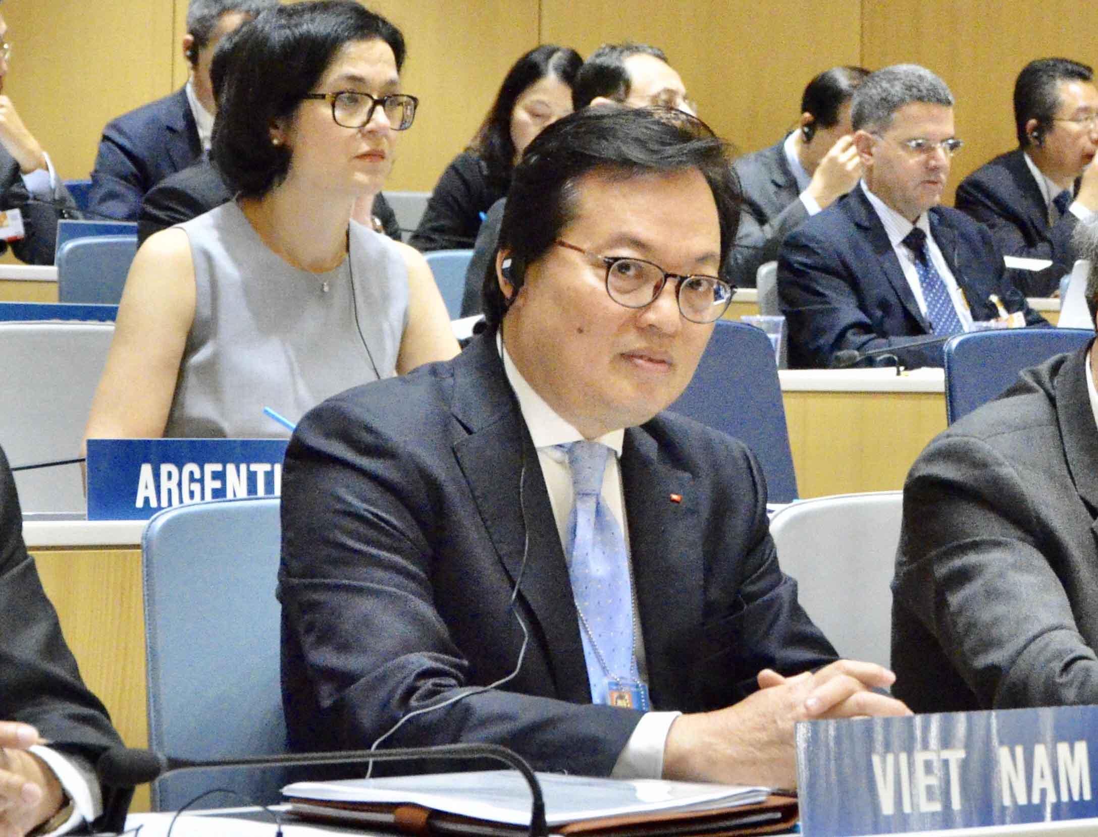Đại sứ Việt Nam tại Geneva trúng cử Chủ tịch Đại hội đồng Tổ chức Sở hữu Trí tuệ Thế giới
