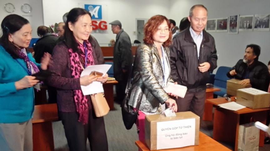 Cộng đồng người Việt tại Ba Lan ủng hộ đồng bào bị thiệt hại do thiên tai