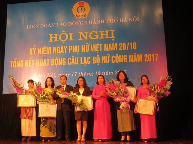 Biểu dương các nữ đoàn viên, công nhân lao động Thủ đô