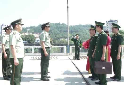 Bộ đội Biên phòng Lào Cai tăng cường hoạt động đối ngoại biên phòng, ngoại giao nhân dân