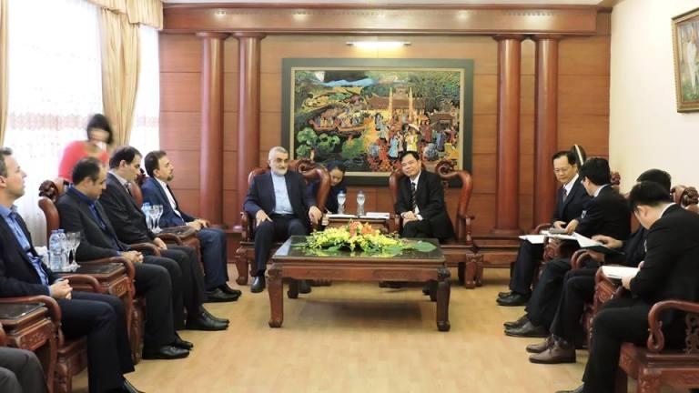 Thúc đẩy quan hệ hợp tác kinh tế thương mại giữa Việt Nam và Iran