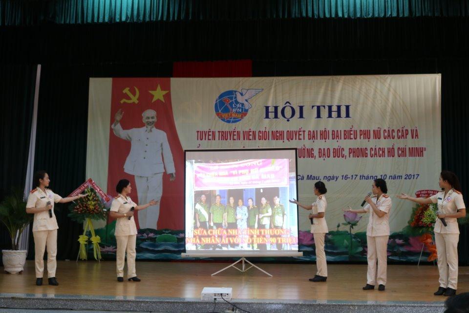 Cà Mau: Hội thi Tuyên truyền viên giỏi về Chỉ thị 05-CT/TW