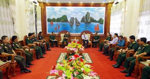 Cục Phát triển Quân đội Hoàng gia Campuchia thăm, làm việc tại Sóc Trăng