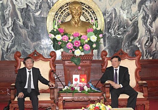 Chánh án Tòa án nhân dân tối cao Nguyễn Hòa Bình tiếp Viện trưởng Viện Công tố tối cao Nhật Bản