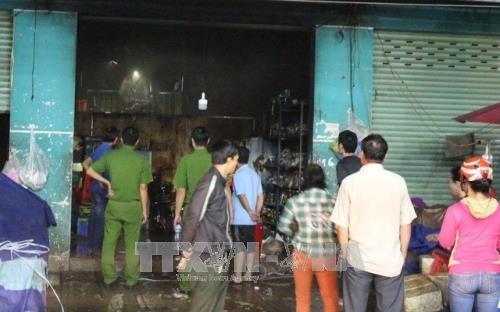 Bình Dương: Cháy ki-ốt khiến 1 người chết, 3 người bị thương