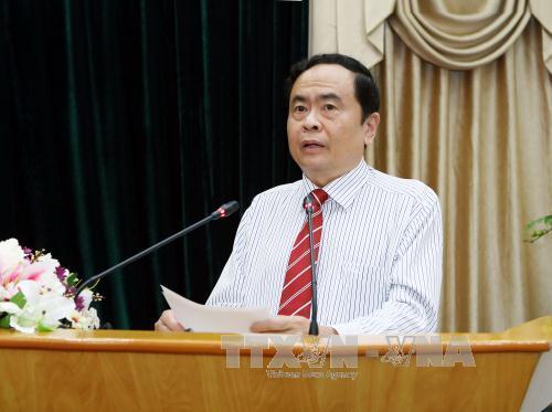 Chủ tịch Ủy ban Trung ương Mặt trận Tổ quốc Việt Nam gửi thư chúc mừng Cộng đồng tôn giáo Baha'i Việt Nam