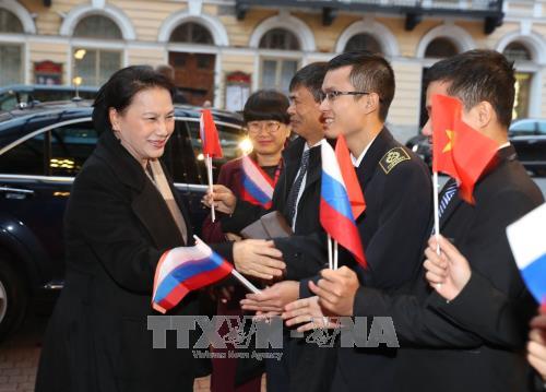 Chủ tịch Quốc hội Nguyễn Thị Kim Ngân đến Saint Petersburg tham dự IPU-137