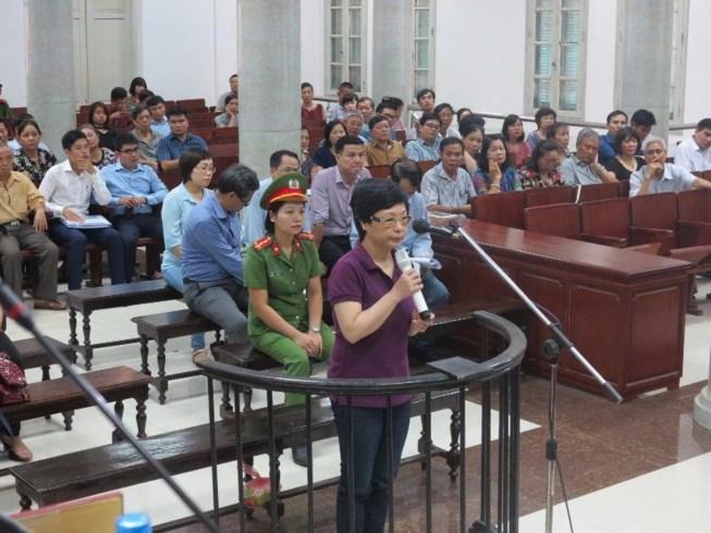Đề nghị mức án chung thân đối với Châu Thị Thu Nga