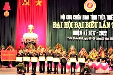 Đại hội Hội Cựu chiến binh tỉnh Thừa Thiên Huế lần thứ VI