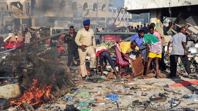Đánh bom kép kinh hoàng khiến 276 người thiệt mạng ở Somalia
