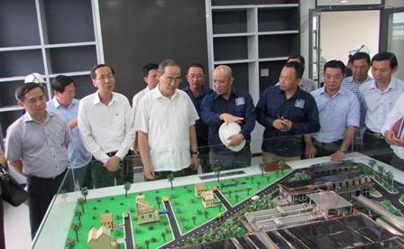 Sớm đưa nhà máy xử lý nước thải Tham Lương – Bến Cát vào hoạt động