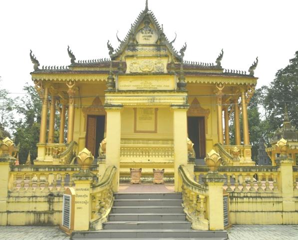 Độc đáo chùa Bốn Mặt (Sóc Trăng)