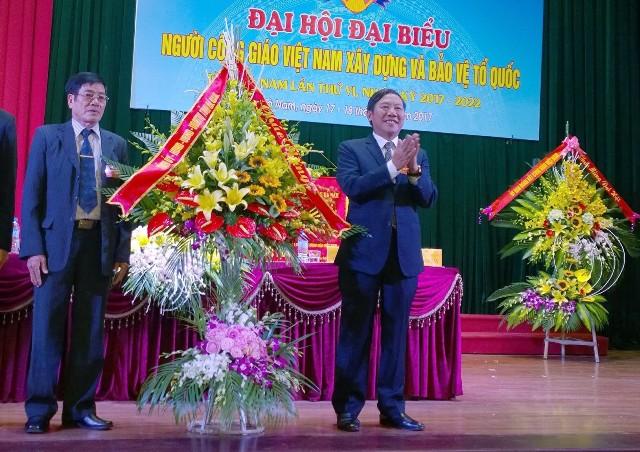Đại hội đại biểu Người Công giáo Việt Nam xây dựng và bảo vệ Tổ quốc tỉnh Hà Nam lần thứ VI