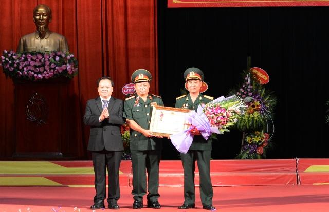 Hội Cựu chiến binh tỉnh Điện Biên đón nhận Huân chương Lao động Hạng Nhì