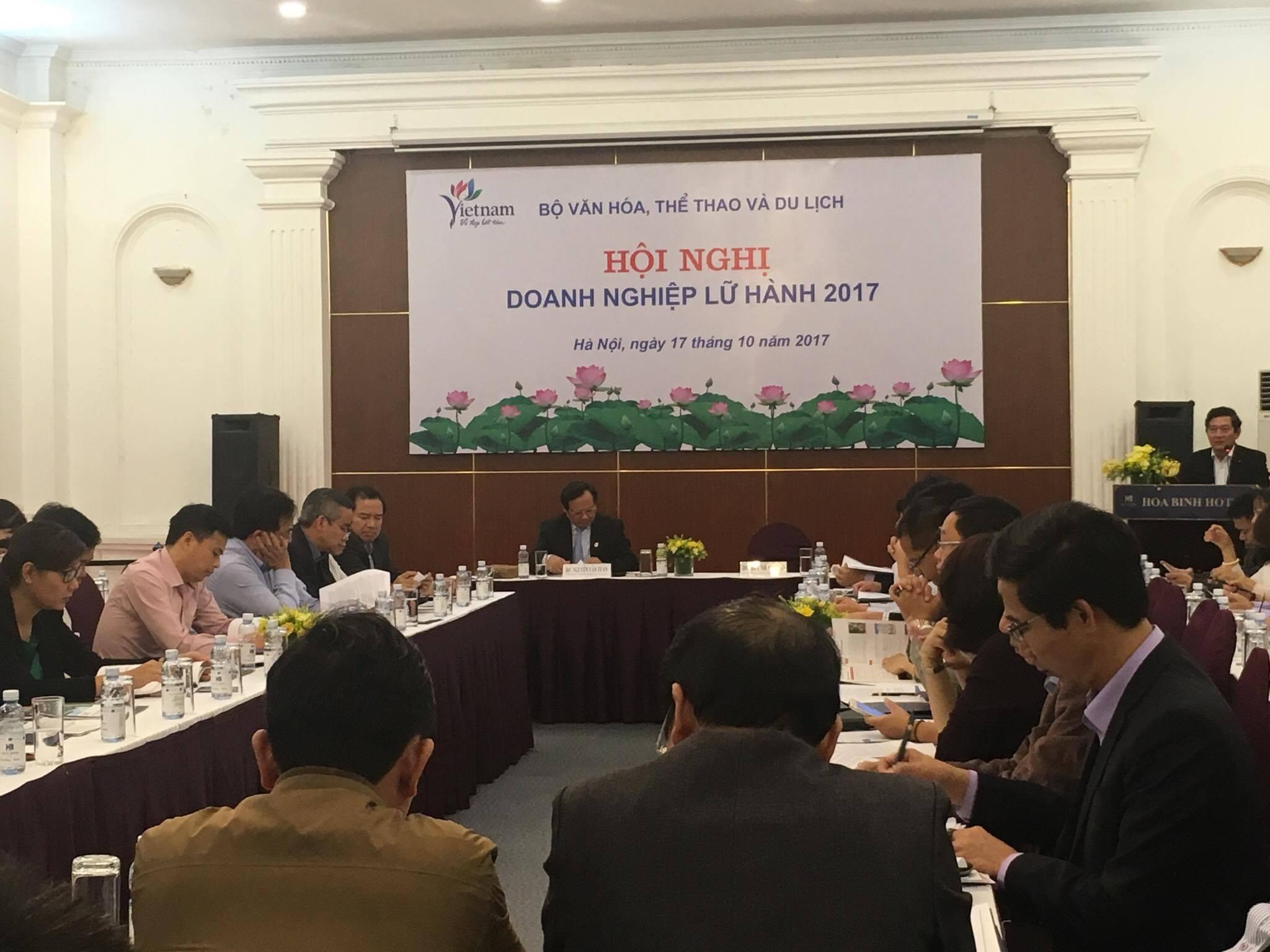 Hội nghị doanh nghiệp lữ hành 2017