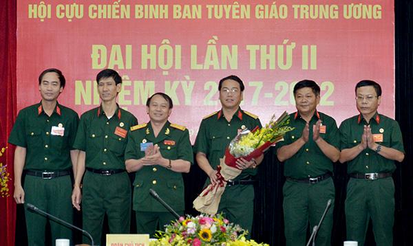 Đại hội Hội Cựu chiến binh Ban Tuyên giáo Trung ương nhiệm kỳ 2017 - 2022