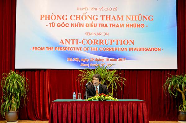Chuyên gia Liên hợp quốc chia sẻ kinh nghiệm về phòng chống tham nhũng