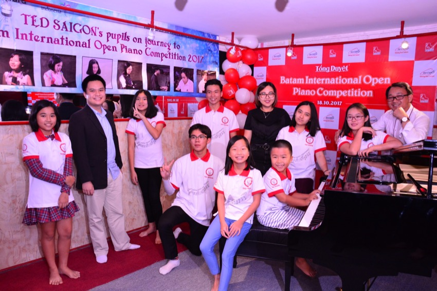 Sẵn sàng chinh phục Batam Piano International Open Competition 2017