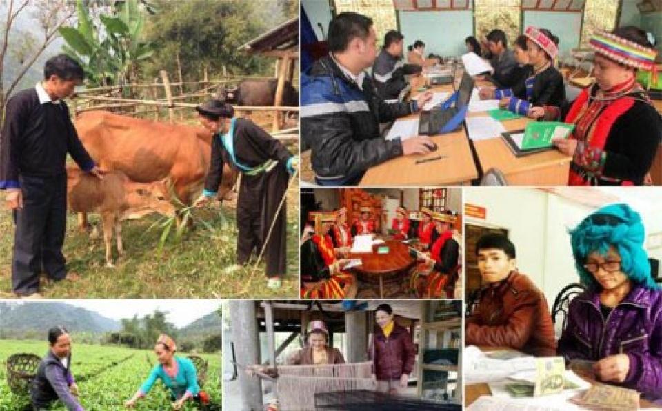 Hỗ trợ nhân rộng mô hình giảm nghèo về nông, lâm, ngư, diêm nghiệp