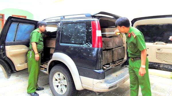 Quảng Nam: 4 vụ tàng trữ, vận chuyển gỗ lậu bị bắt giữ