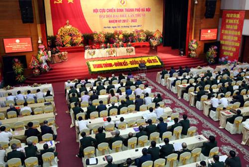 Phát huy truyền thống Bộ đội cụ Hồ, xây dựng Hội Cựu chiến binh Thủ đô ngày càng vững mạnh