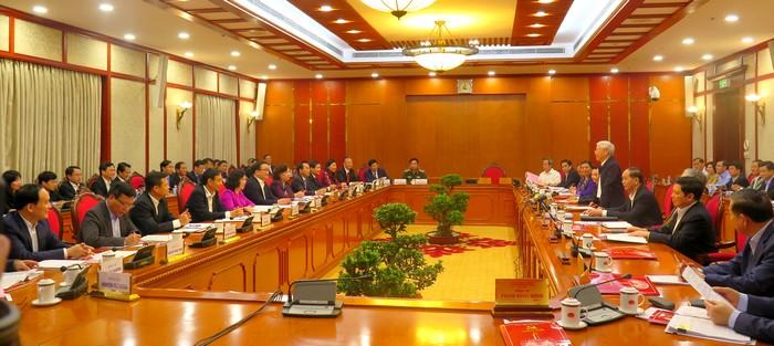 Tổng Bí thư Nguyễn Phú Trọng: Đưa Thủ đô Hà Nội vươn lên bứt phá mạnh mẽ hơn nữa