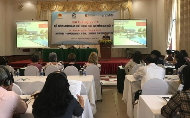 Đổi mới và nâng cao chất lượng giáo dục mầm non Việt Nam