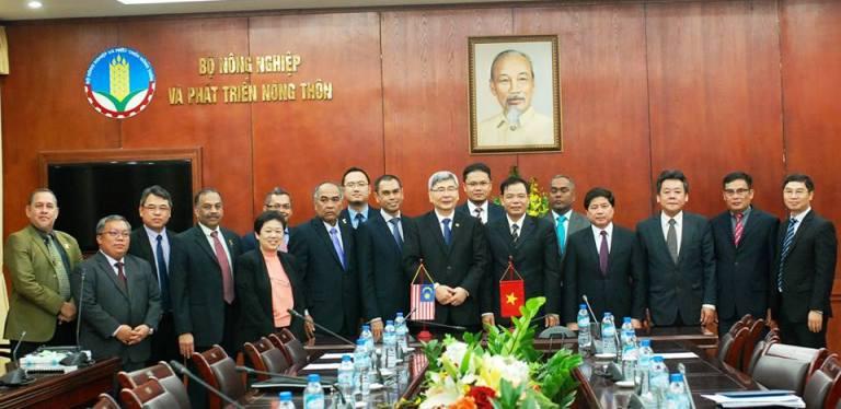Thúc đẩy quan hệ hợp tác ngành nông nghiệp giữa Việt Nam và Malaysia