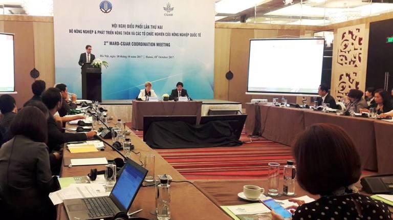 Tăng cường hợp tác nghiên cứu khoa học giữa ngành nông nghiệp Việt Nam và CGIAR