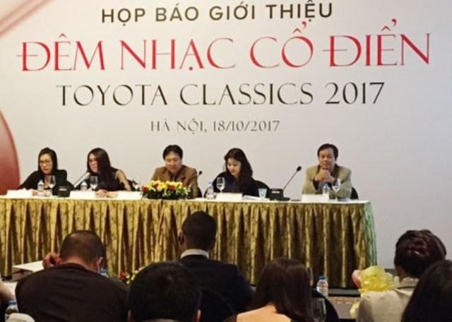 Đêm nhạc Cổ điển Toyota đánh dấu chặng đường 20 năm tổ chức tại Việt Nam