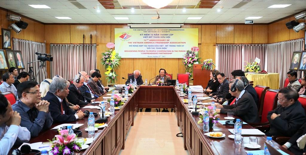 Đẩy mạnh giao lưu hợp tác giữa nhân dân hai nước Việt Nam và Mỹ