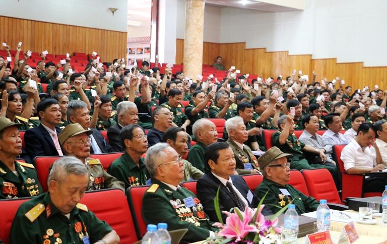 """Hội Cựu Chiến binh tỉnh Điện Biên """"Trung thành - Đoàn kết - Gương mẫu - Đổi mới"""""""