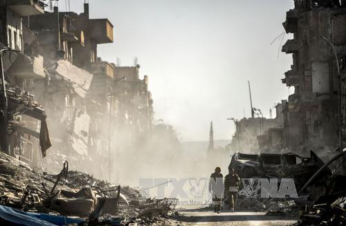 Tổng thống Mỹ nhận định sự kết thúc của IS đang cận kề
