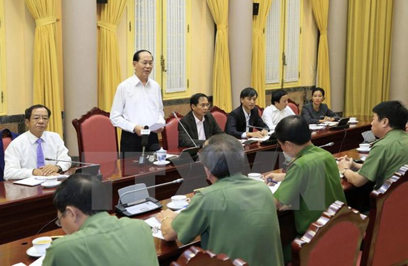 Đảm bảo tuyệt đối an ninh, an toàn Tuần lễ cấp cao APEC 2017