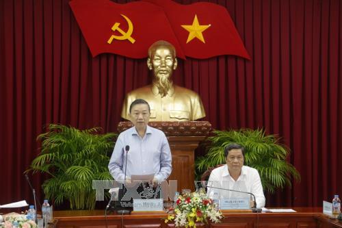 Ban Chỉ đạo cải cách Tư pháp Trung ương làm việc với thành phố Cần Thơ