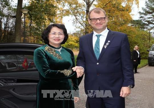 Bước phát triển tích cực của quan hệ hữu nghị và hợp tác nhiều mặt giữa Việt Nam và Phần Lan