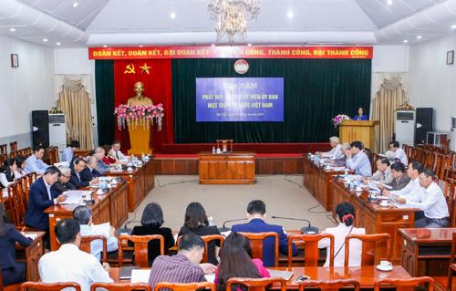 Phát huy vai trò của Ủy viên Ủy ban Mặt trận Tổ quốc Việt Nam