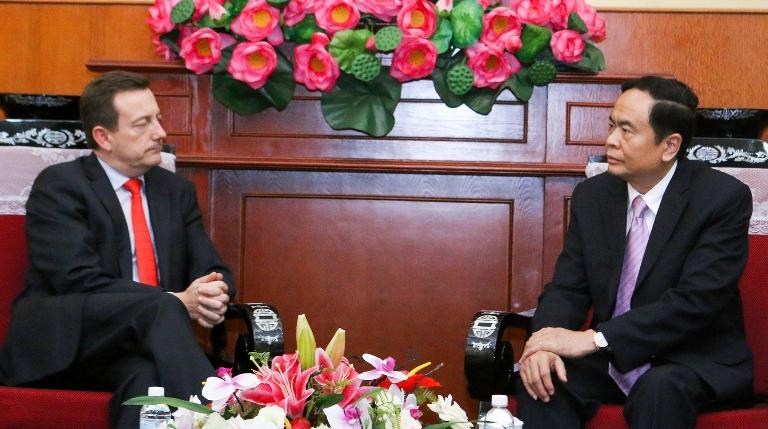 Thúc đẩy mối quan hệ đối tác chiến lược Việt Nam - Pháp