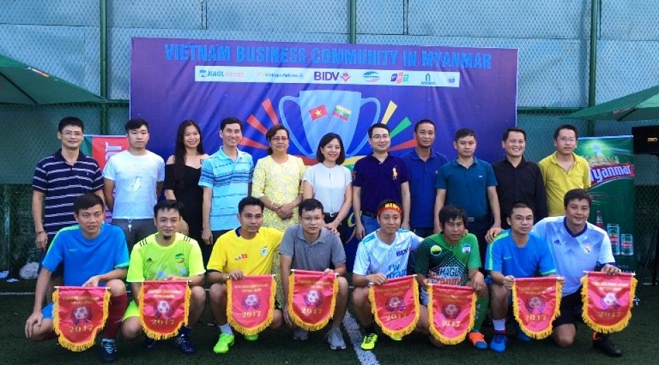 Giải bóng đá Doanh nghiệp Việt Nam tại Myanmar 2017