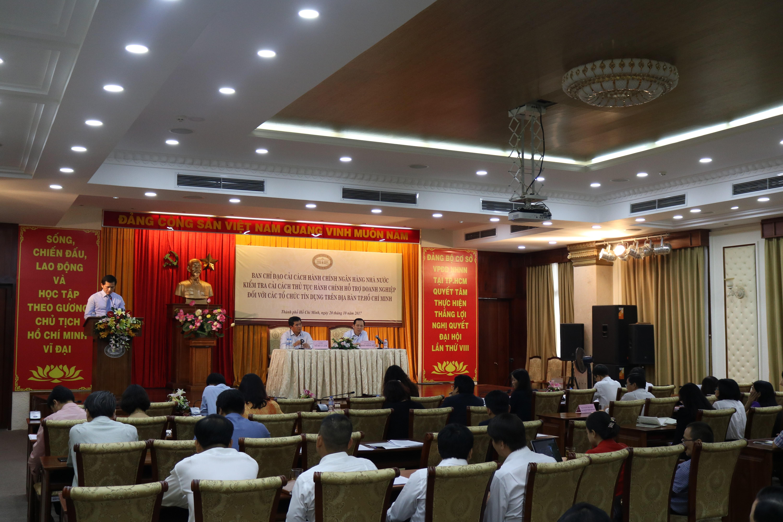 TP. Hồ Chí Minh: Hệ thống Ngân hàng tiếp tục đẩy mạnh cải cách thủ tục hành chính