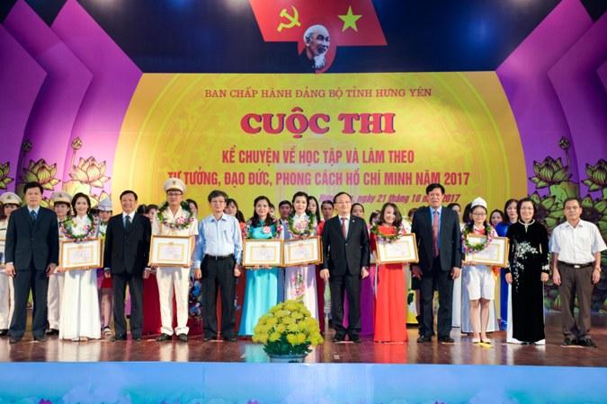 """Hưng Yên: Chung khảo Cuộc thi """"Kể chuyện về học tập và làm theo tư tưởng, đạo đức, phong cách Hồ Chí Minh"""" năm 2017"""