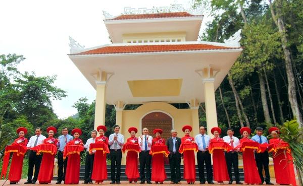 Khánh thành Khu di tích Đặc khu ủy Quảng Đà